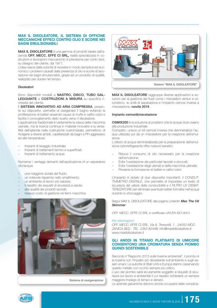 Redazionale Associazione Italiana Finitura dei Metalli