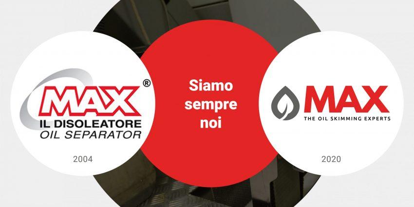 Nuovo logo MAX